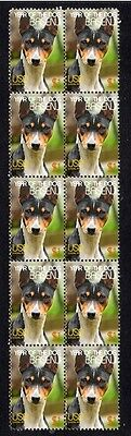 Basenji Strip Of 10 Mint Year Of The Dog Stamps 4