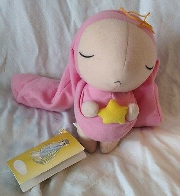 Chobits Manga CLAMP Stuffed Plushie Plush Doll Pink Rabbit Cute