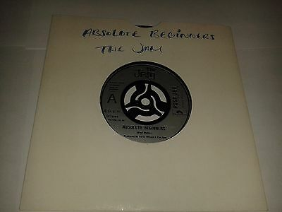 "Jam  - ""Absolute Beginners""  7"" (1981) EX / ""Tales From The Riverbank""   / REF6"