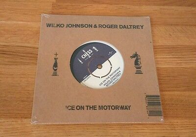 "Wilko Johnson Roger Daltrey Ice On The Motorway UK 7"" Single Chess Pub Rock"