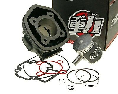 Cylinder Kit 70cc NARAKU for Piaggio NRG 50 mc³ DD LC 01-04 ZAPC320