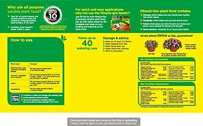 Miracle Gro All Purpose Soluble Plant Food Tub 2kg Nationwide Gardeners Trusted