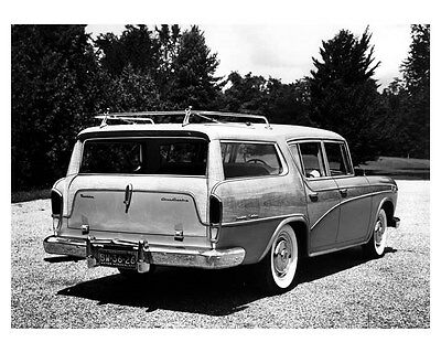 1956 Rambler Cross Country Station Wagon ORIGINAL Factory Photo ouc5892