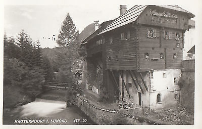 2 postcard of Mauterndorf im Lungau 1957 not  posted