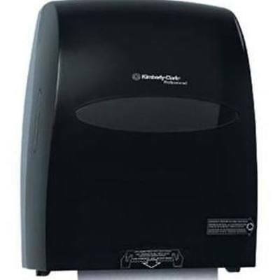 Sanitouch Hard Roll Paper Towel Dispenser; Touchless, Smoke/Black (09996-03)