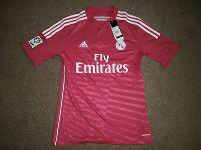 New With Tags Adult Real Madrid Away Football Shirt Size S Rrp £60