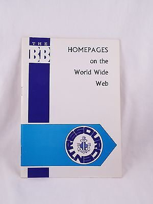 Boys' Brigade Homepages On The World Wide Web Resource Booklet Boy's Bbs B.b.