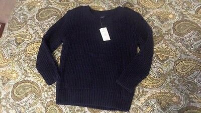 New With Tags Gap Boy's Navy Sweater Size 3 Years
