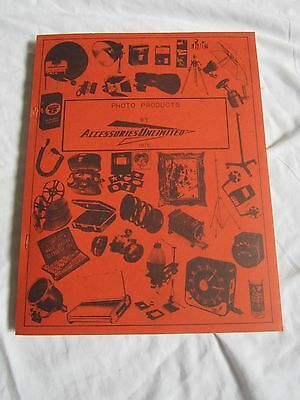 vintage Accessories Unlimited Photo Products Catalog 1976 (LK)