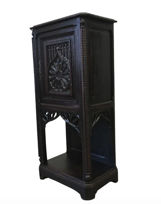 French Antique Gothic Vestry Cabinet Cathedral Furniture