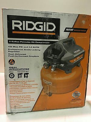 Ridgid OF60150HA 6 Gal. Portable Electric Pancake Compressor New