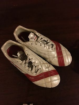 Football Boots. Kids Size 3 Uk. Nomis Dual Control. Leather. Vfl