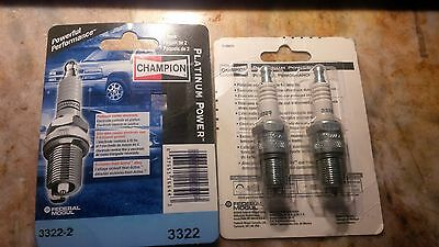 Champion Platinum 3322-2 Spark Plug pak of 2