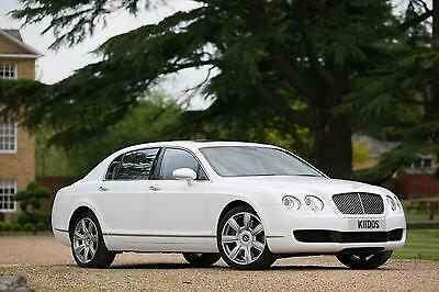 Bentley Continental 6.0 auto 2005 / 55 Reg Flying Spur / Low Mielage / White