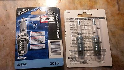 Champion Platinum 3015-2 Spark Plug pak of 2