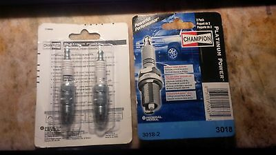 Champion Platinum 3018-2 Spark Plug pak of 2