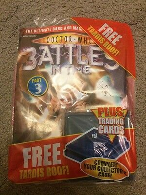Doctor Who Battles In Time Part 3 Collectors Trading Cards And Tardis Roof