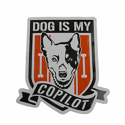 OKC Farmtruck & AZN - Dog Is My Copilot Decal - Dog