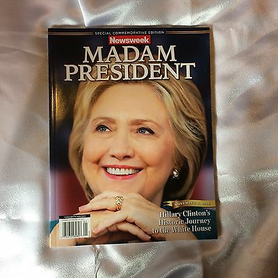 Newsweek Madam President Special Commentator Edition Recalled Hillary Clinton