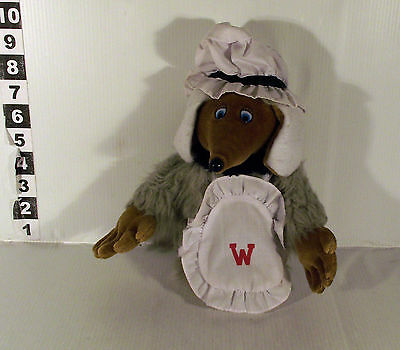 """10"""" Madame Cholet Womble Girl The Wombles Soft Toy"""