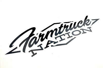 OKC Farmtruck & AZN - Nation Decal - Street Outlaws