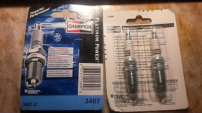 Champion Platinum 3407-2 Spark Plug pak of 2