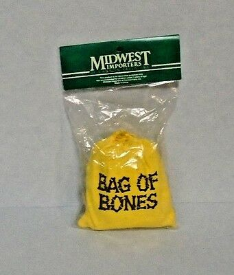 """Midwest of Cannon Falls Halloween Yellow """"Bag Of Bones"""""""