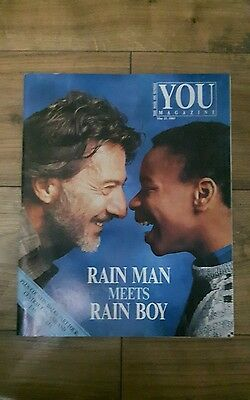 You The Mail On Sunday Supplement Vintage Magazine - 21st May, 1989