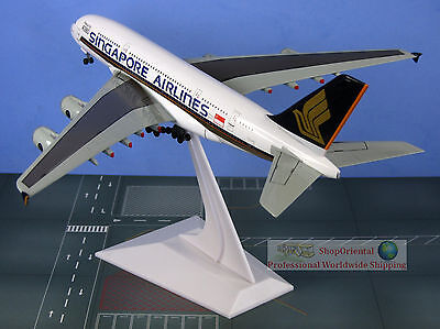 Defect55555 Dragon Wings Singapore Airlines First to Fly A380 1:400 Plane Model
