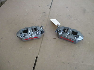 07 08 Ducati 1098 1098S Front Brembo Calipers   1098 Front Calipers