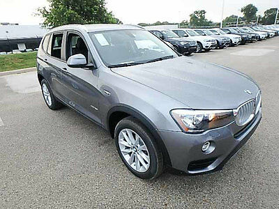 2017 BMW X3 sDrive28i Sports Activity Vehicle sDrive28i Sports Activity Vehicle 4 dr Automatic Gasoline 2.0L 4 Cyl Space Gray