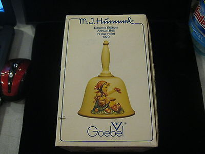 Hummel Goebel 2Nd Edition Annual Bell Bas Relief 1979 Hum701 With Box Germany