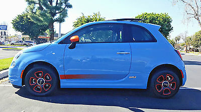 2015 Fiat 500 Sunroof Esport 2015 Fiat 500E - Sunroof - Specializing in Low Mileage  EV Cars .