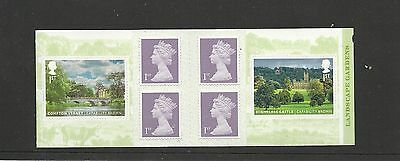 Great Britain Booklet Capability Brown MNH
