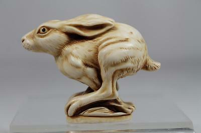 Harmony Kingdom 'Harry' NEW - Solid Rabbit NetsUKe #TJNRA RETIRED NIB