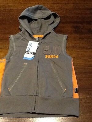 NEW BONDS BOYS VEST with Tags