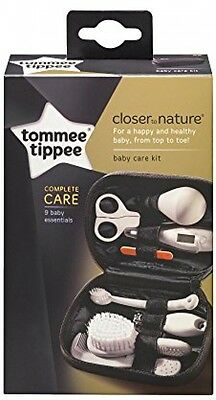 Tommee Tippee Closer To Nature Healthcare Kit Nine Essential Items Grooming Baby