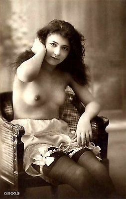 13,000 RISQUE POSTCARD IMAGES 1890 TO 1920s ON  DVD ROM DISK