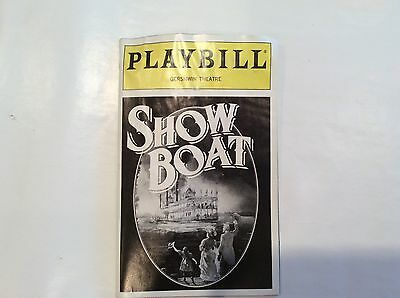 Show Boat Playbill 1995