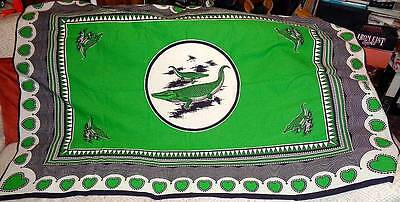 Crocadiles/Alligators Design Table Cloth/Wall Hanging/Throw Collectable/Animal