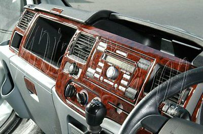 Ford Transit 2006–2010 Dash Trim Kit 3M 3D Wood Effect 18-Parts