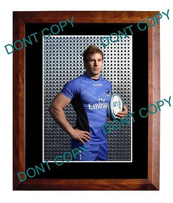 David Pocock Western Force Rugby Large A3 Photo 1