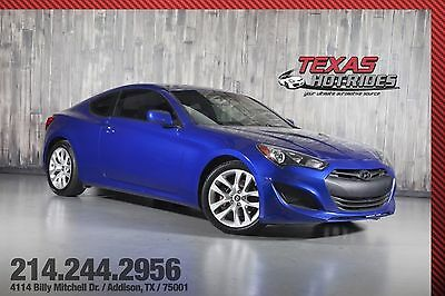 2013 Hyundai Genesis 2.0T 6-Speed 2013 Hyundai Genesis 2.0T 6-Speed Turbocharged! Coupe! MUST SEE