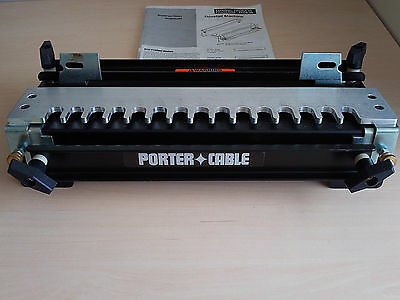 """PORTER CABLE 12"""" inch DOVETAIL JIG MACHINE MODEL 4112  Type 2 with MANUAL"""