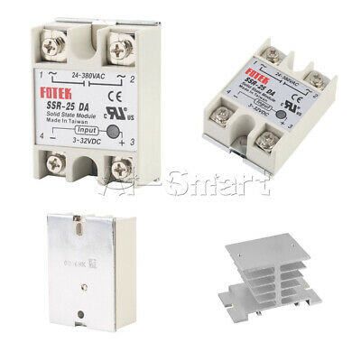 Solid State Relay Alloy Heat Sink SSR-25DA SSR-40DA SSR-60DA 25A/40A/60A 250V AS