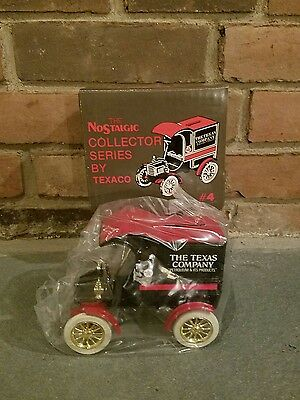VINTAGE Texaco 1905 FORD Delivery Car Mint Bank Nostalgic #4 ERTL 9321