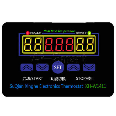 XH-W1411 10A AC 220V LED Digital Temperature Controller Thermostat Control AS