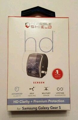 ZAGG Invisible Shield HD for Samsung Galaxy Gear S Smart Watch Screen Protector