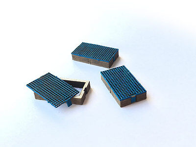 Laser Cut Trackside Drainage Catchpits Oo Gauge 1:76 Model Railway - Lx106-Oo