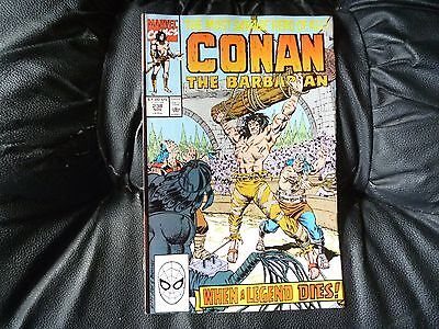 Conan the  Barbarian #  238 in nice condition  but for slight damp problem